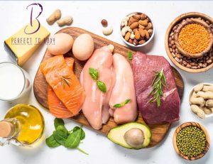 اتباع نظام غذائي عالي البروتين
