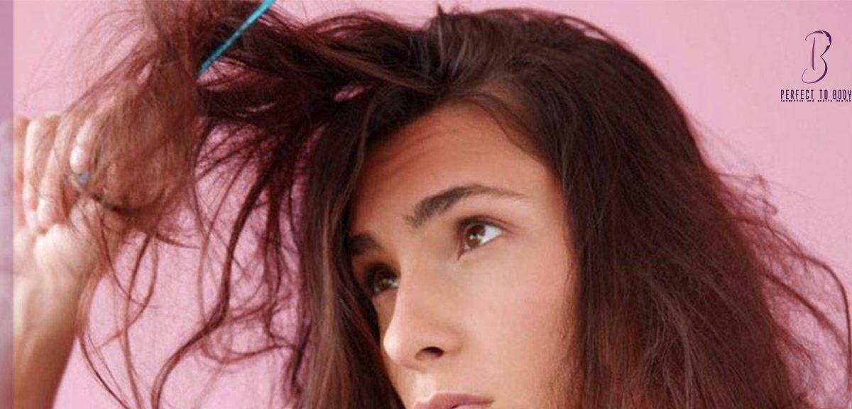 علاج الشعر الهايش من الأمام