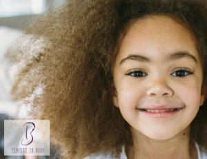 هيشان الشعر من الأمام عند الأطفال