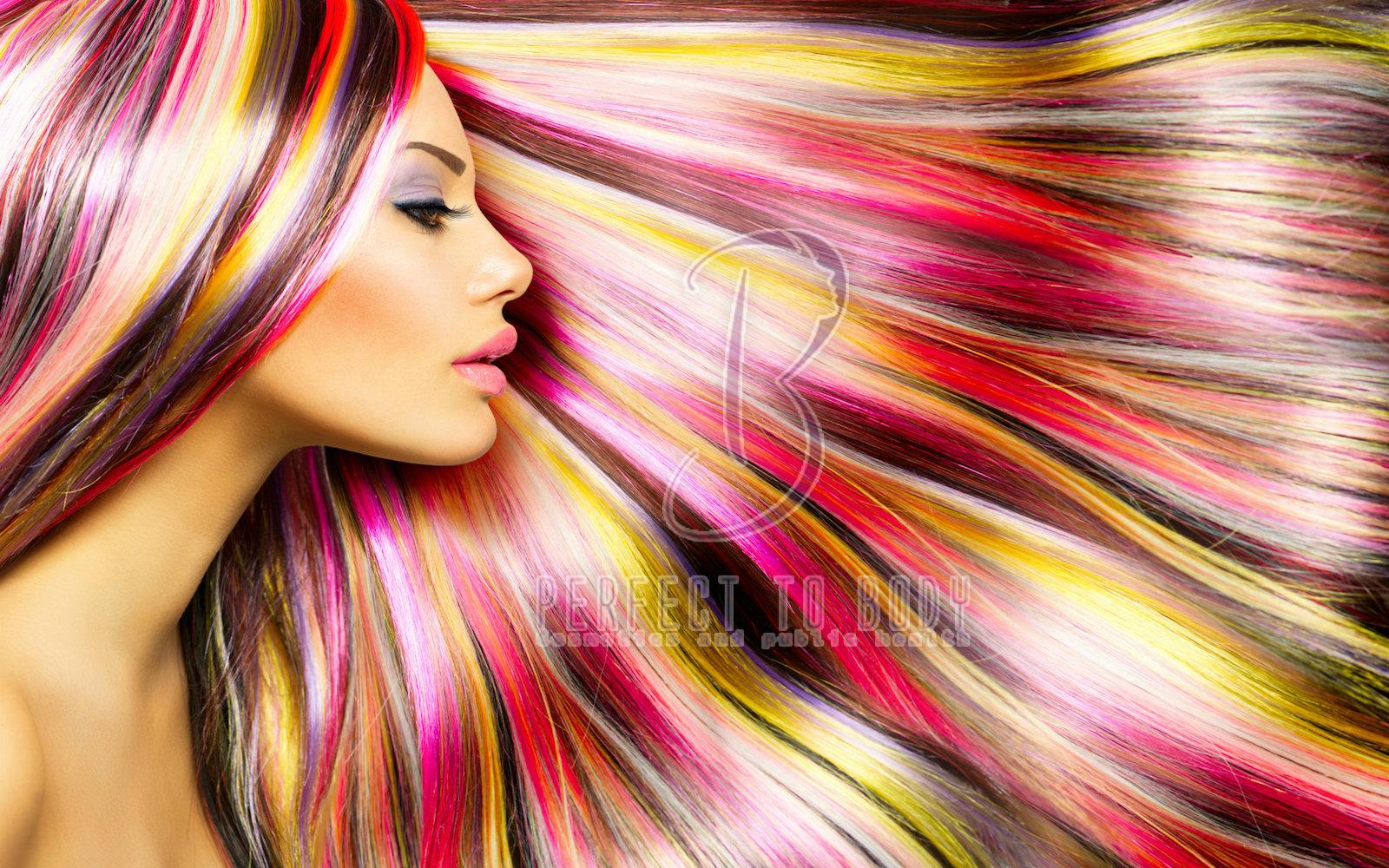 أحدث ألوان صبغات الشعر 2021