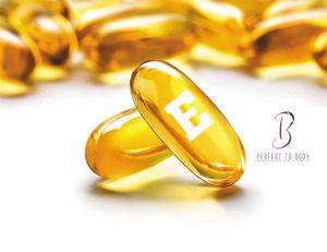 كبسولات فيتامين E للبشرة الدهنية