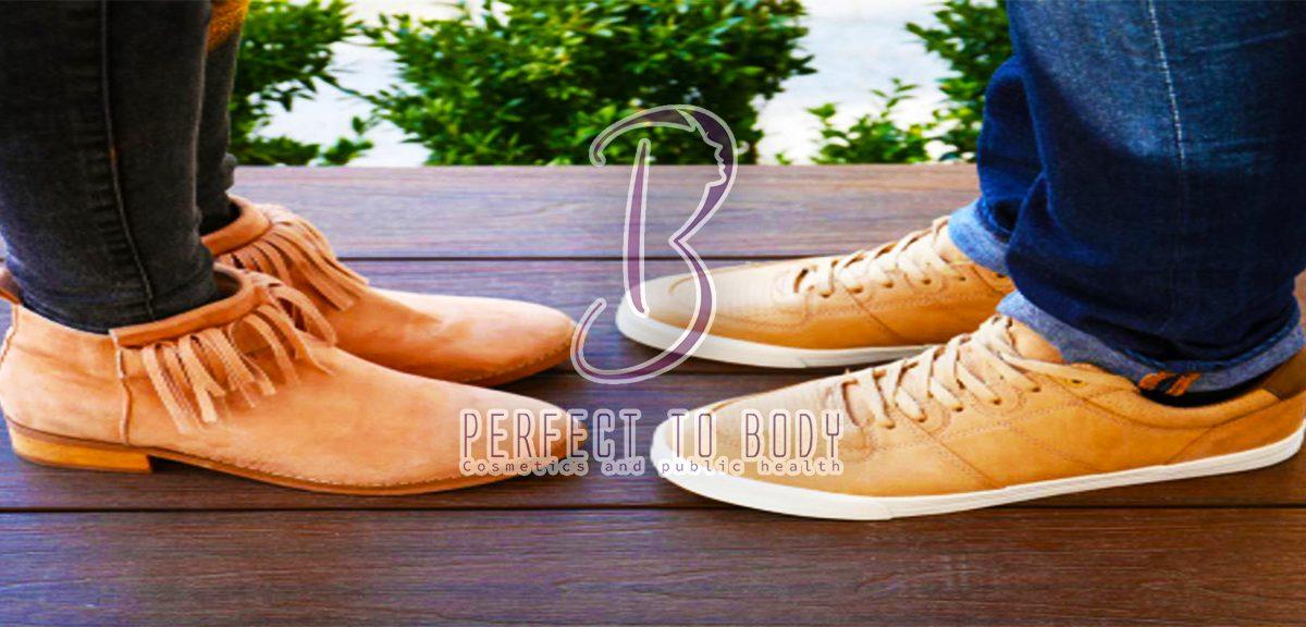 طريقة تنظيف الأحذية الشامواه