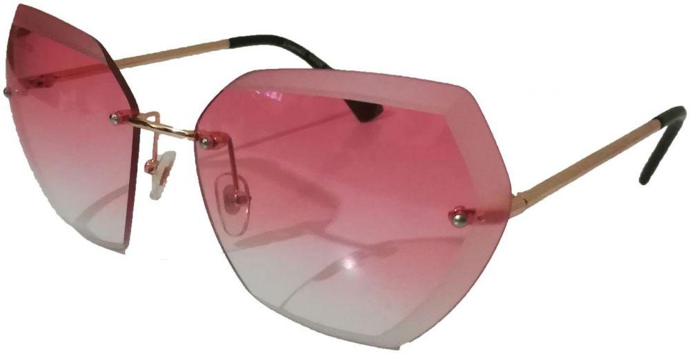 نظارة شمس حريمى باطار شبه مربع