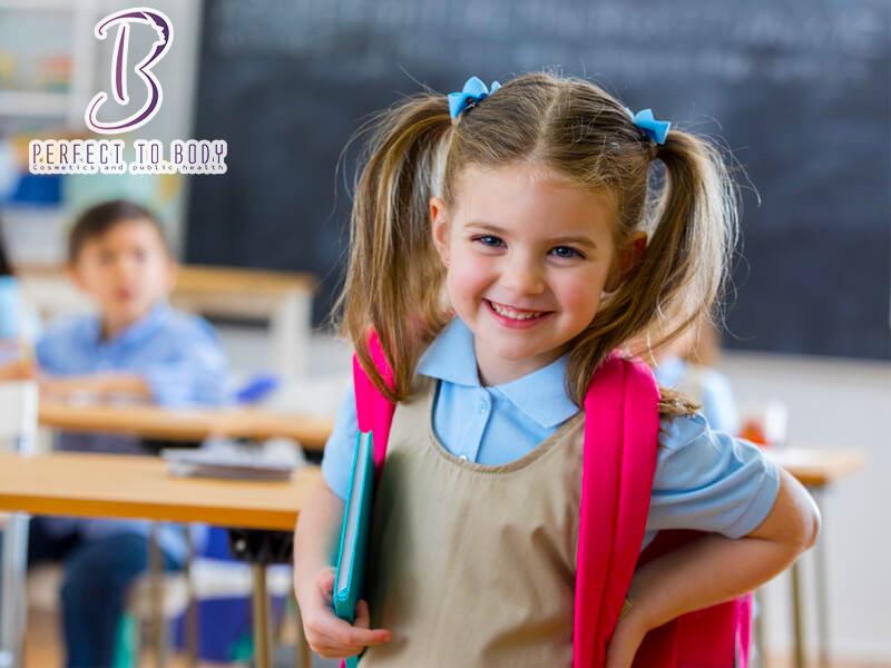 تسريحات شعر للمدرسة للأطفال