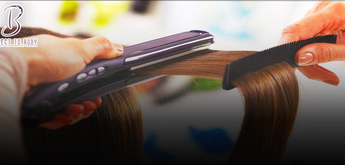 الفرق بين مكواة الشعر السيراميك والتيتانيوم