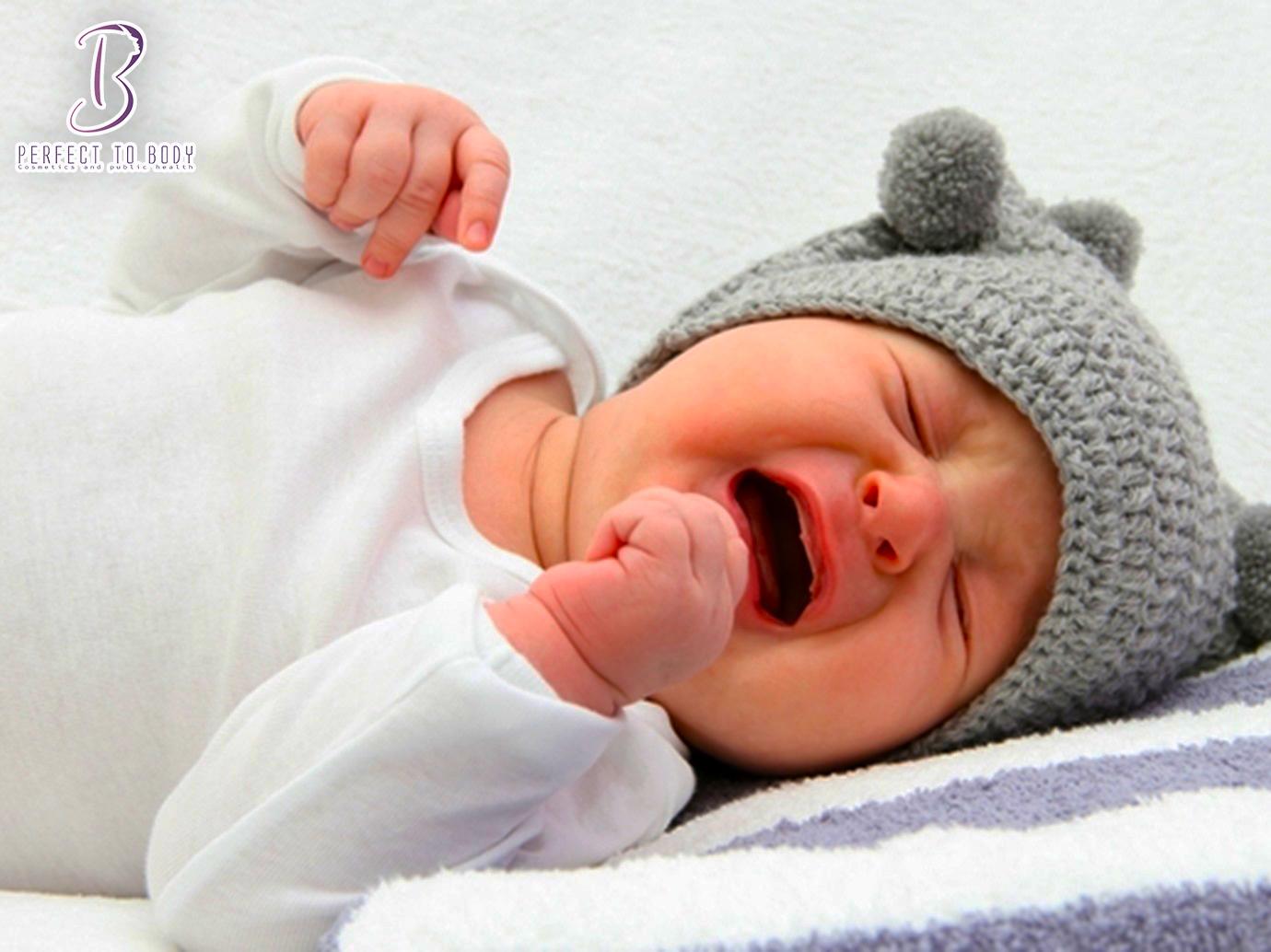 علاج المغص عند الأطفال حديثي الولادة