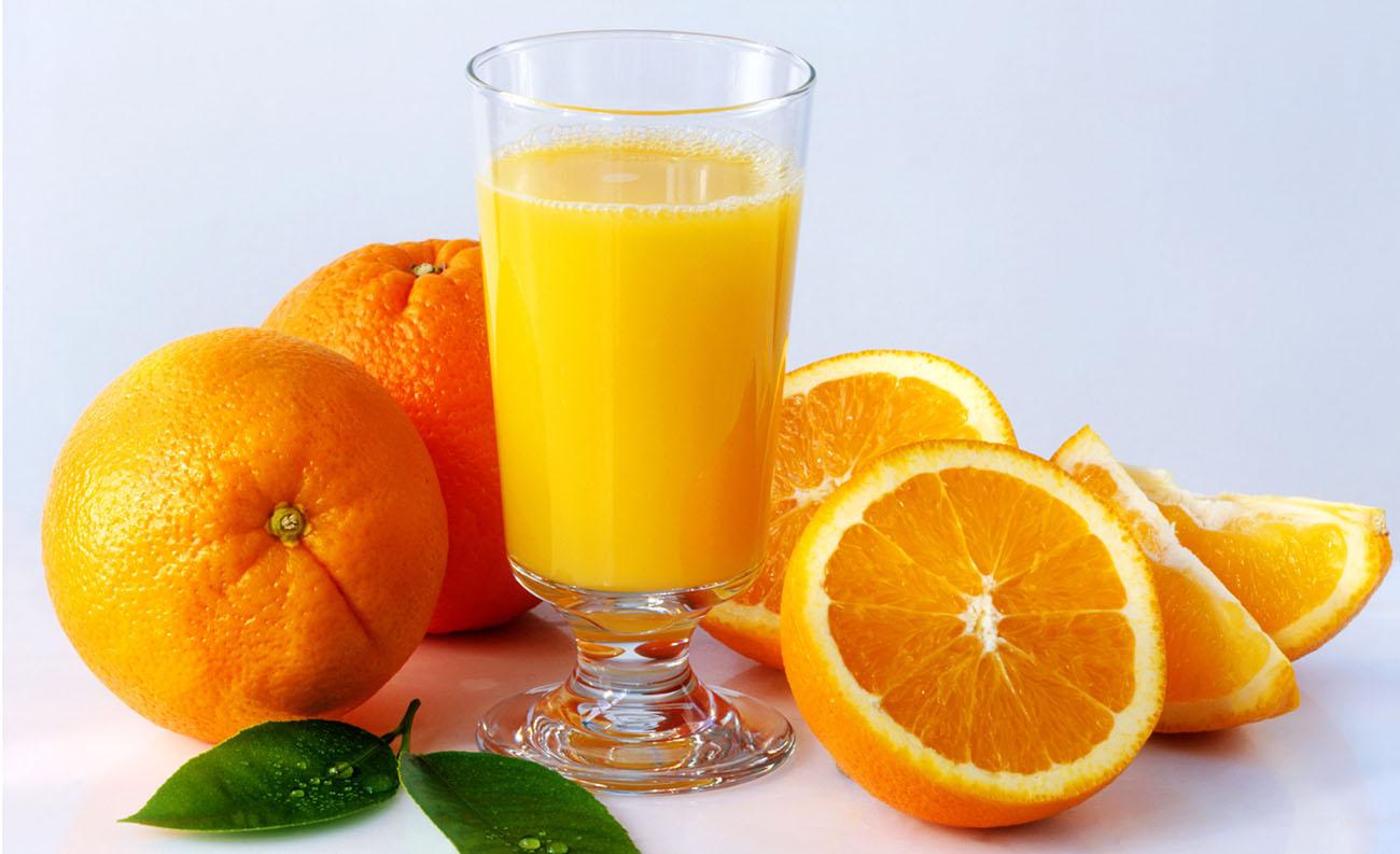 فوائد عصير البرتقال والنشا للوجه