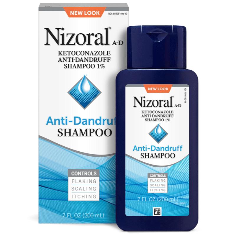 """شامبو لعلاج فروة الرأس الحساسة   شامبو نيزورال المضاد للقشرة """"Nizoral A-D Anti-Dandruff Shampoo"""""""