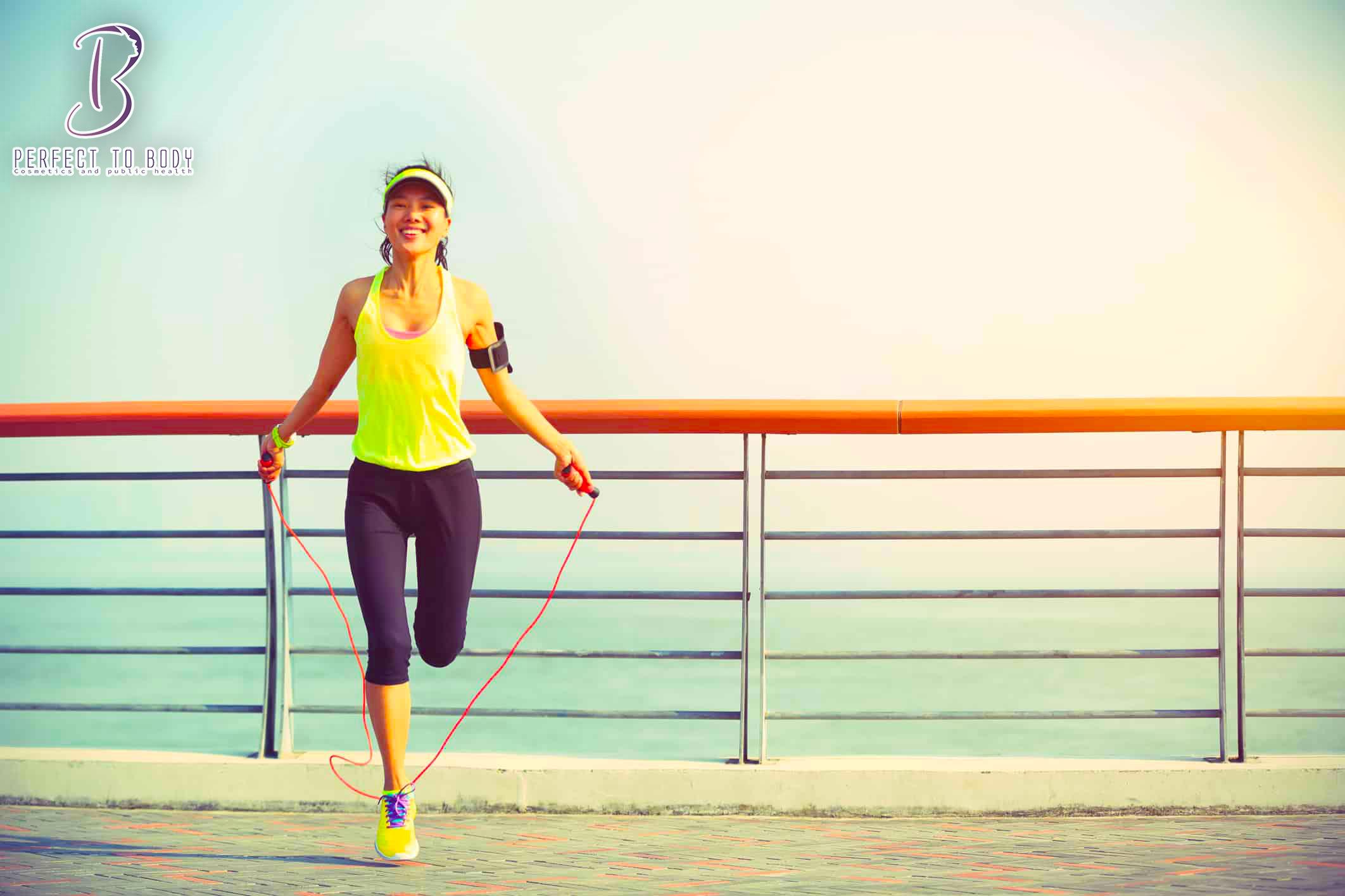 فوائد رياضة نط الحبل لصحة المرأة